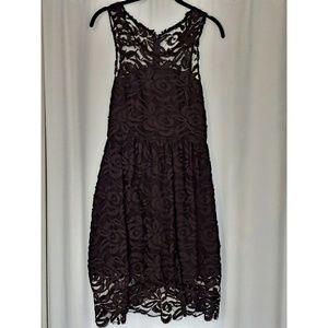 Black lace cocktail dress Size eu2 (M)